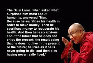 Dalai Lama on Humanity